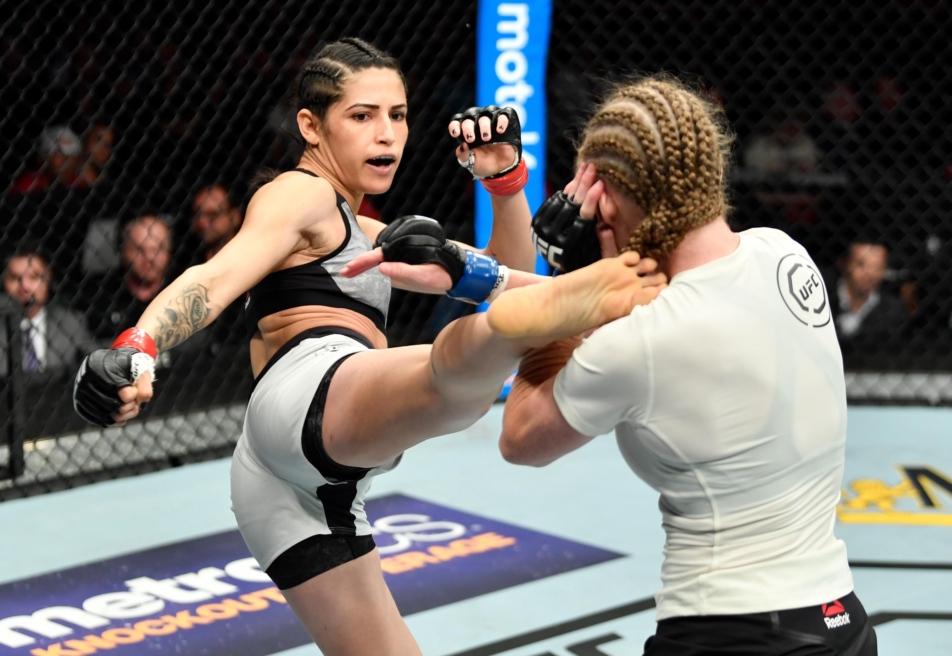 Polyana Viana was beaten by JJ Aldrich in her last fight