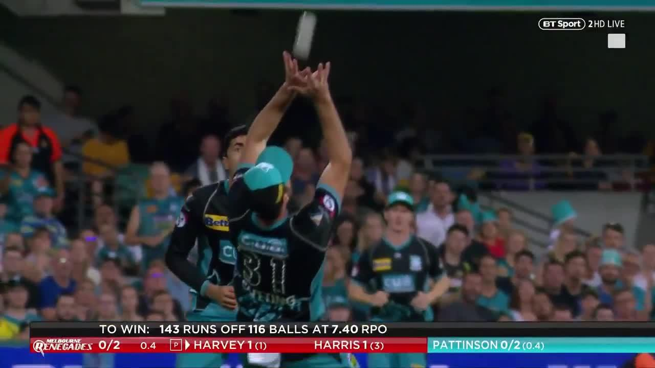 Cutting looked set to dismiss Harris