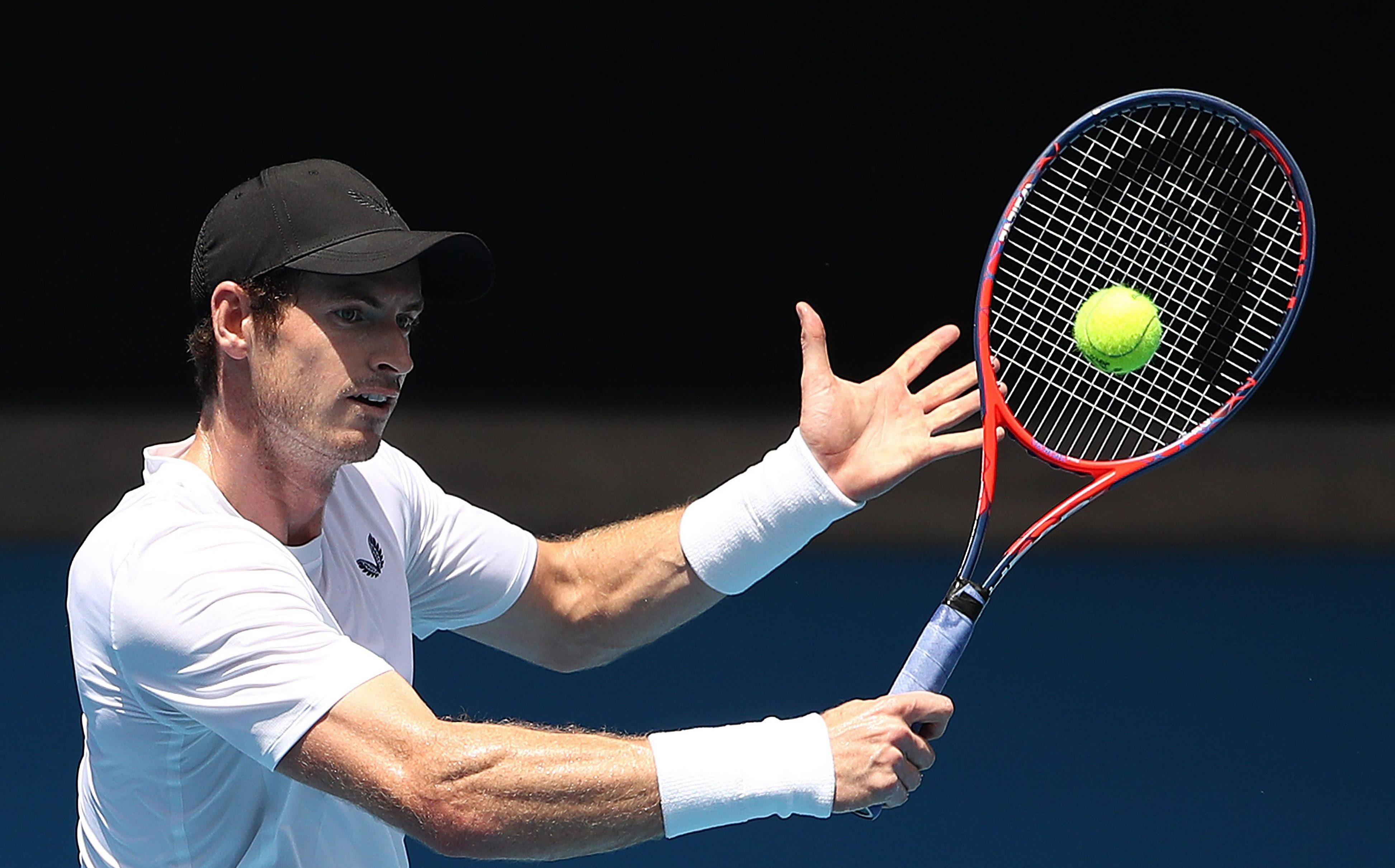 Murray looked stiff in practice ahead of the game
