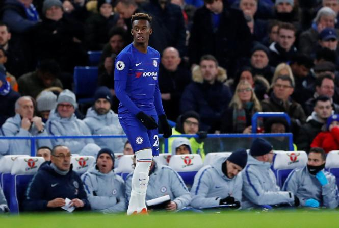 Callum Hudson-Odoi is still being linked with a move to Bayern Munich, and was dropped to the bench today