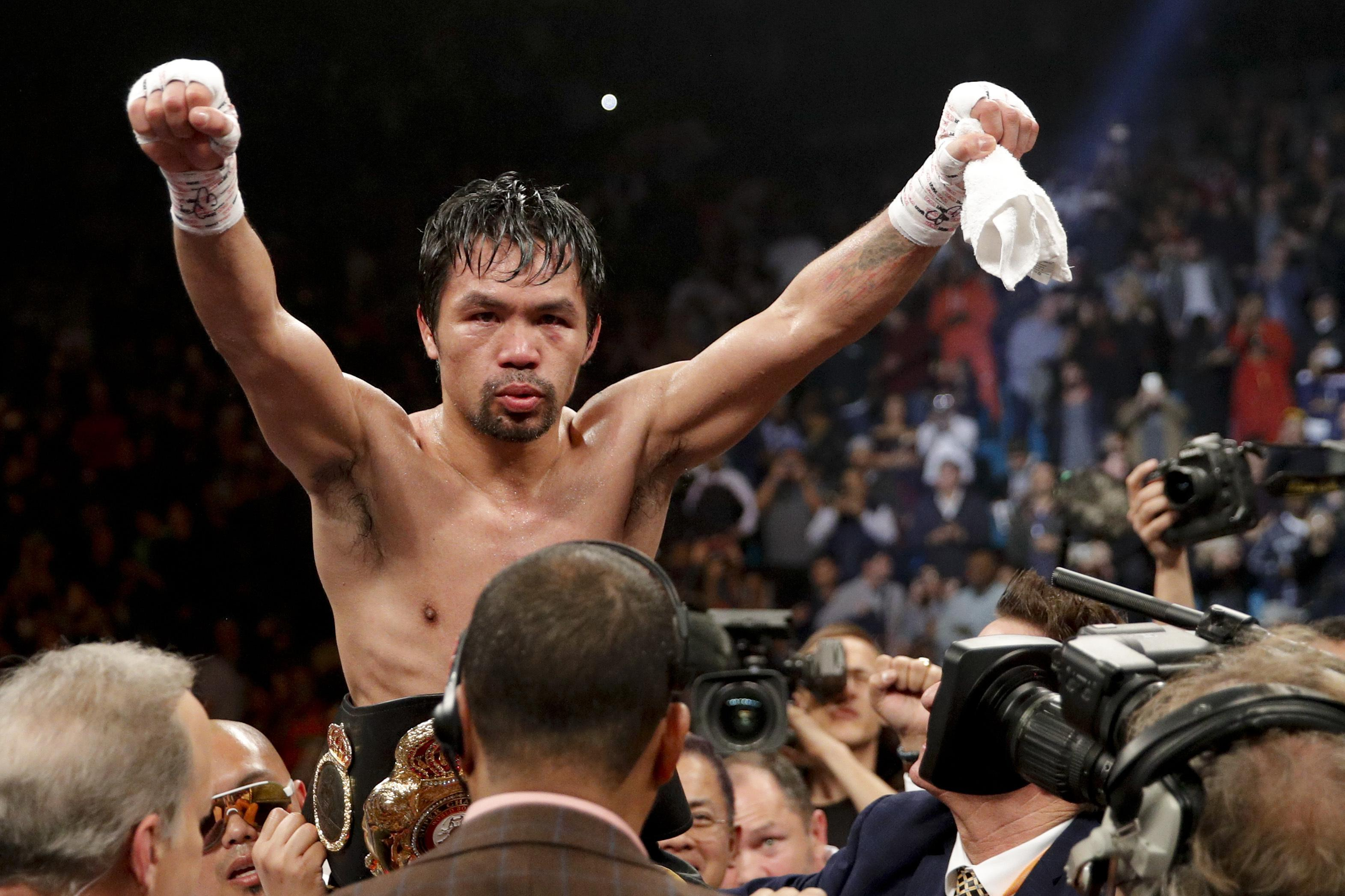 Manny Pacquiao showed he still has plenty left in the tank with an easy win against Adrien Broner