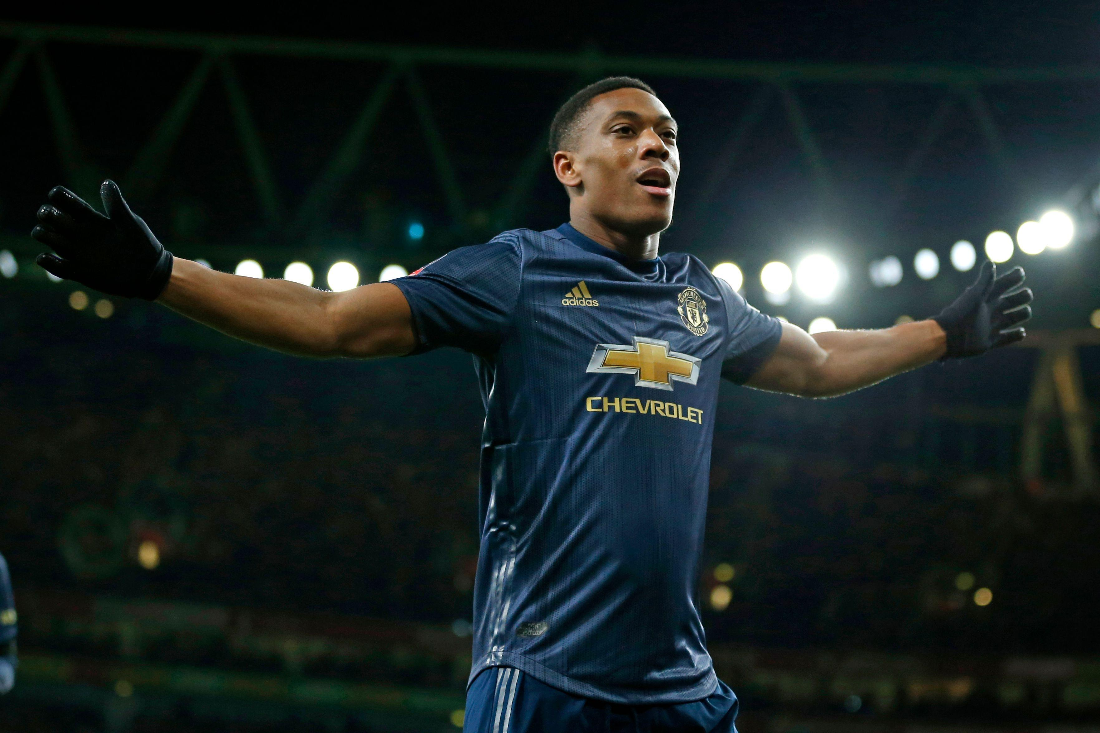 Anthony Martial has agreed a new five-year contract but Rashford is yet to commit