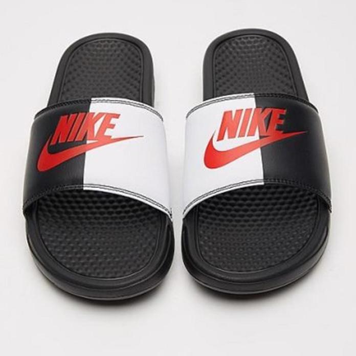 Bargain Nike sliders are fab if you like a logo