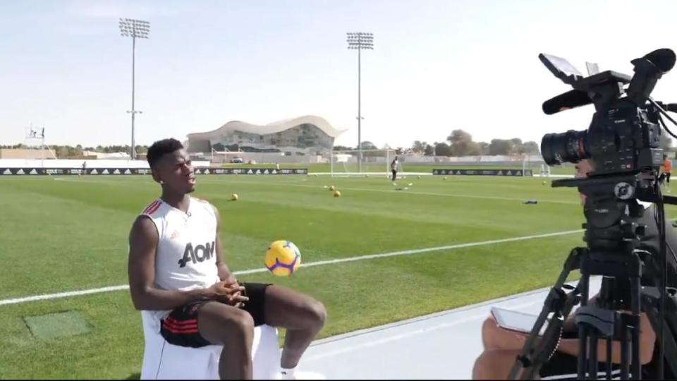 Man United Star Paul Pogba Shows Off Outrageous First