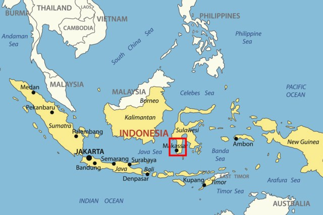There are around one million Torajan people, most of whom live in the South Sulawesi region