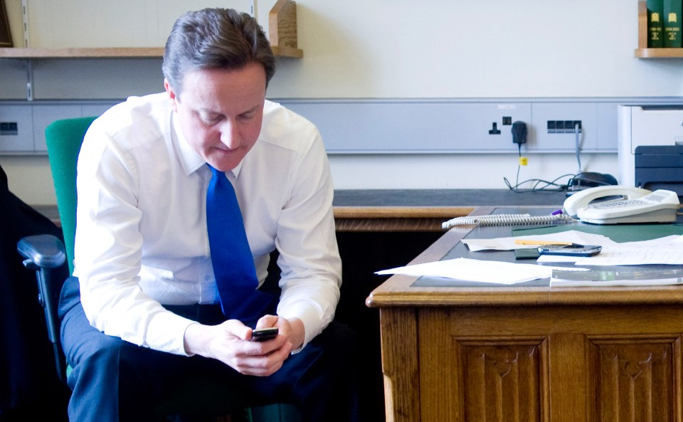 David Cameron text a Tory who defected to theIndependent Group begging her to stay