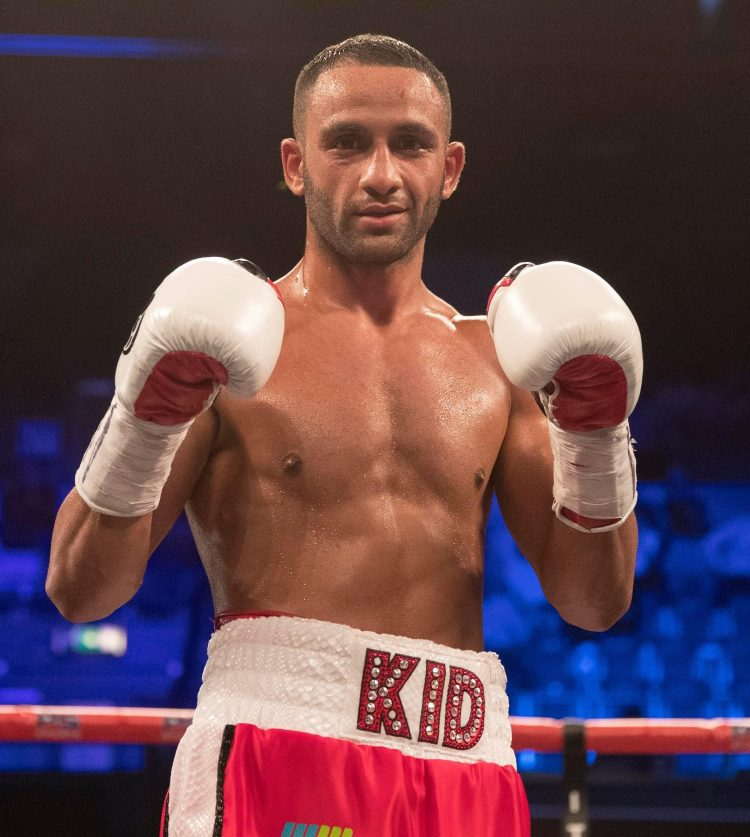 Kid Galahad was banned from boxing for 18 months after a banned substance was found in a drugs test