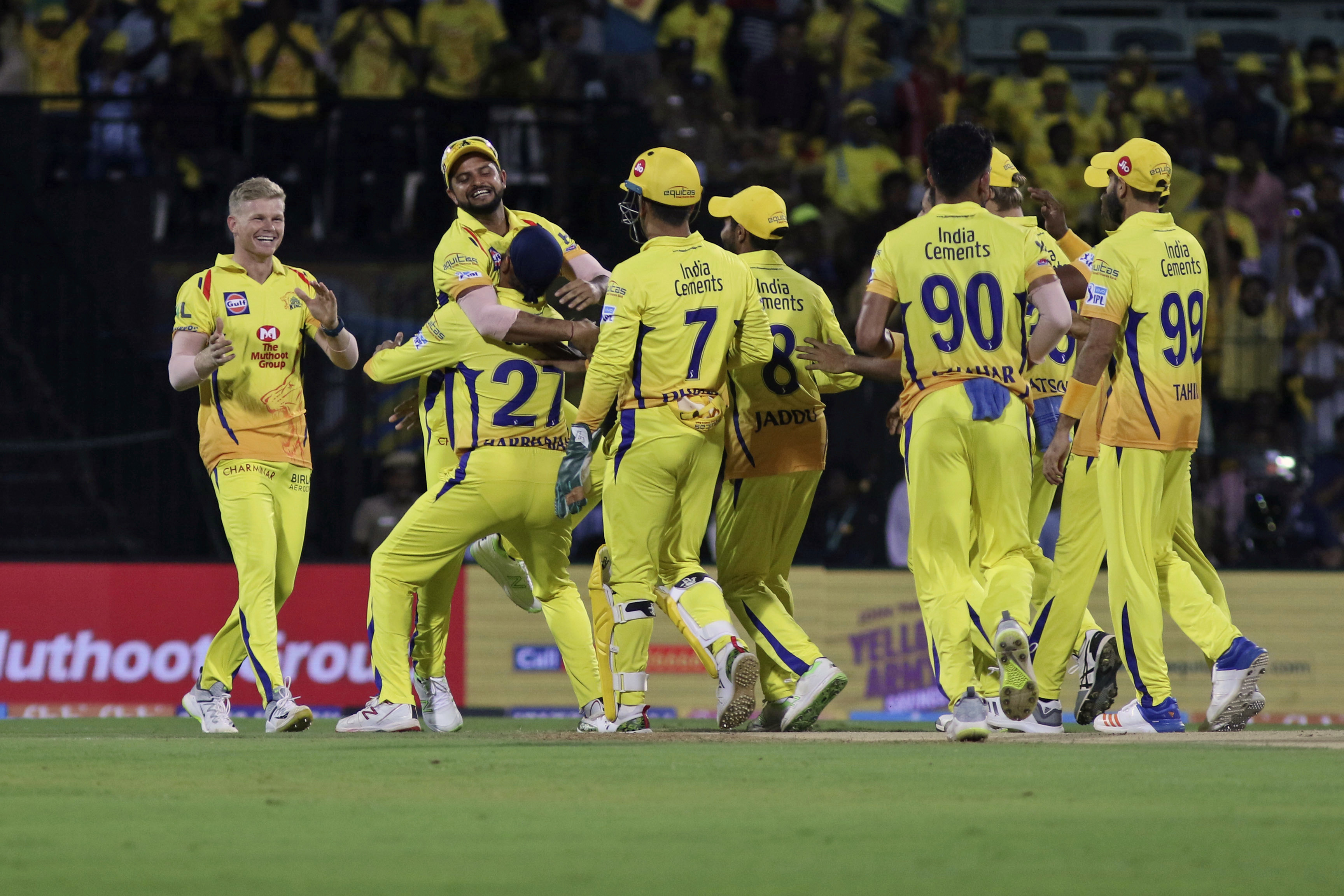 CSK were last year's IPL champions