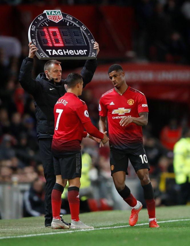 Rashford and Sanchez are enjoying very different seasons at Man Utd