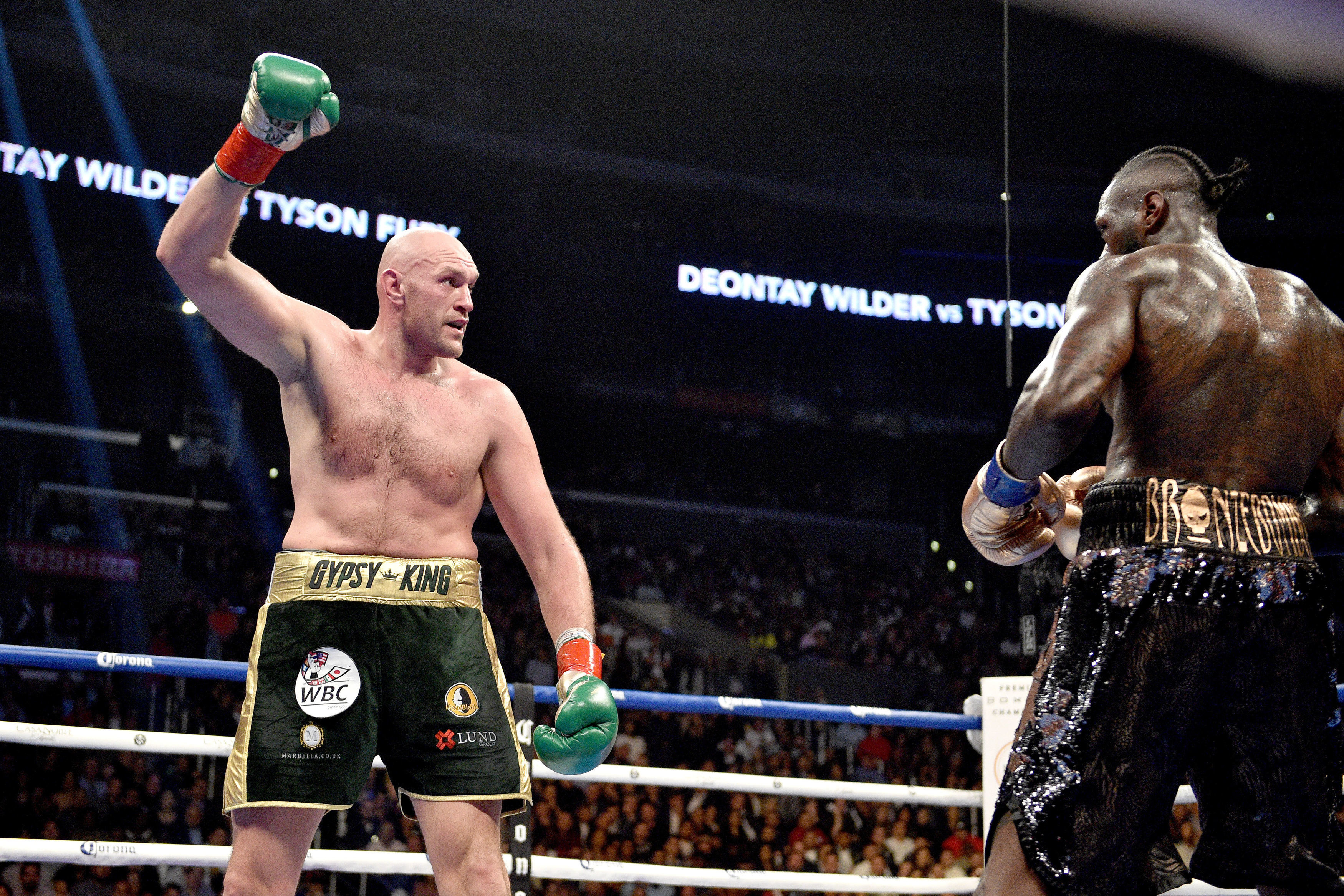 Fury drew against WBC king Deontay Wilder in Los Angeles in December in what was his last fight