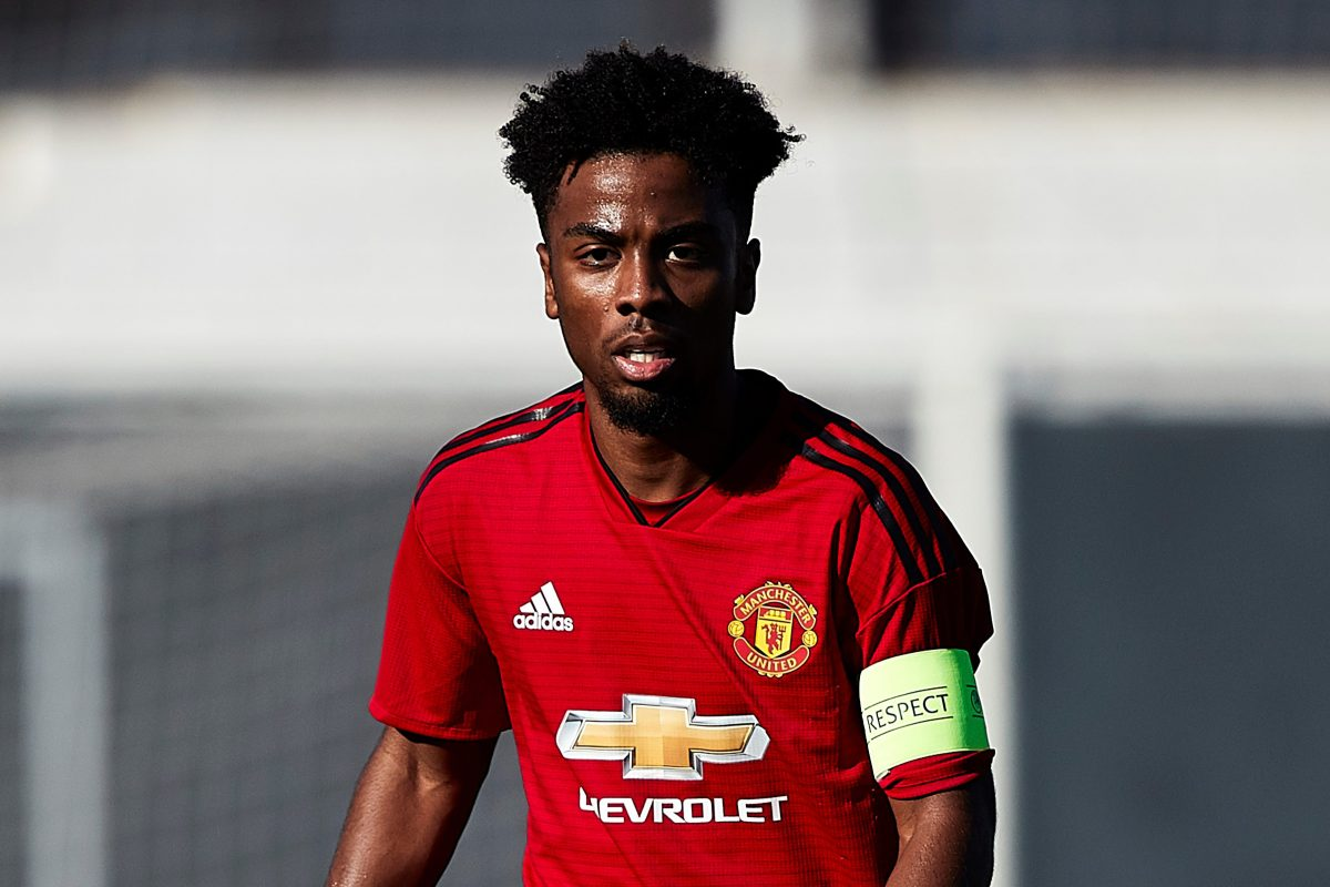 Who is Angel Gomes, when did he join Man Utd and is he playing