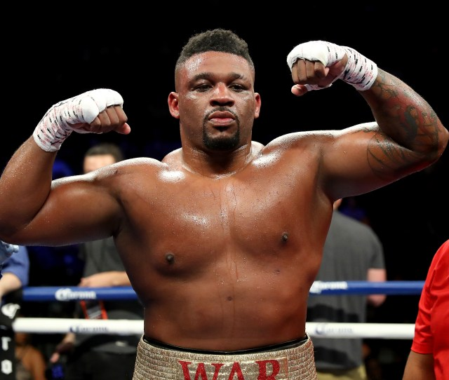 Jarrell Miller Is Looking To Break Into The Big Threes Dominance And Become A Heavyweight World