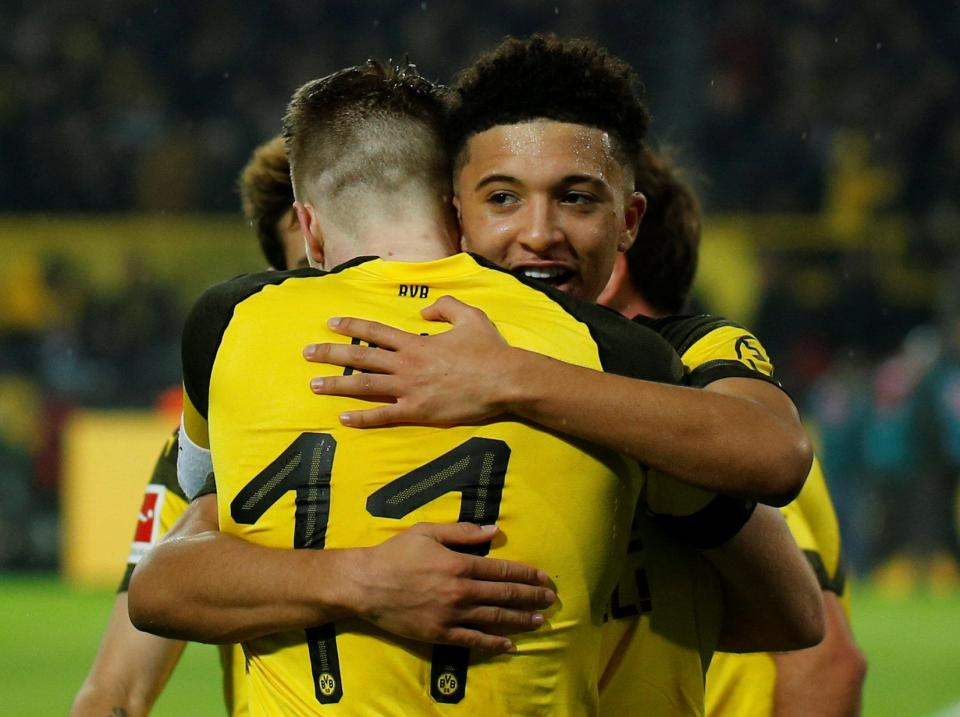 Jadon Sancho has been sensational ever since heading to Germany