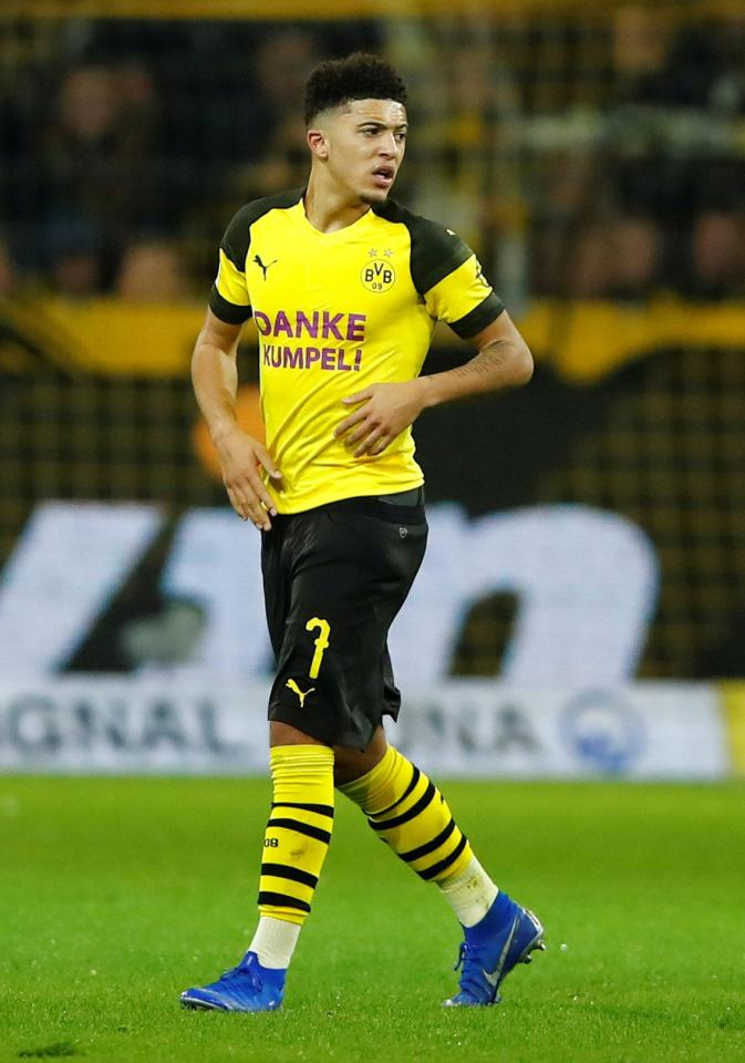 Jadon Sancho has revealed his little brother, who died young, is his inspiration