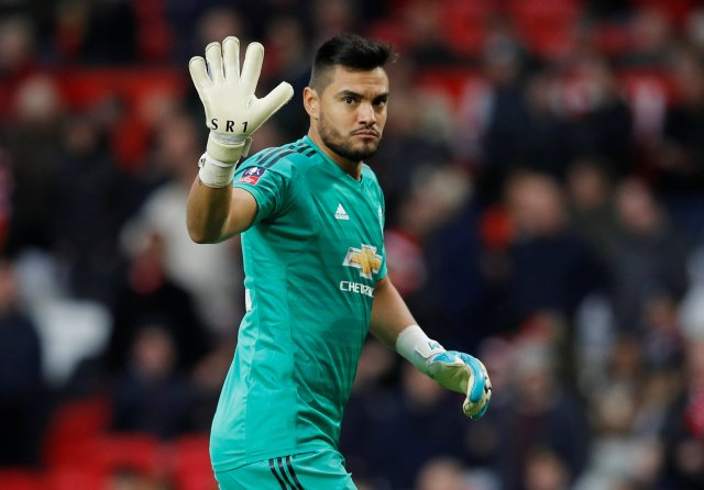 Outcast Romero ready to snub transfer interest and sit on Man Utd bench on  £65k-a-week