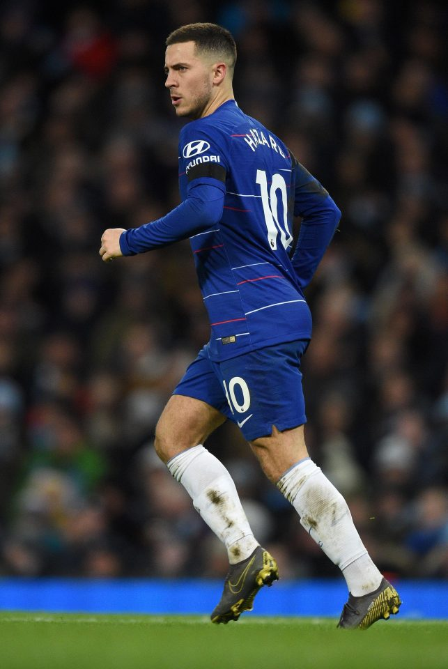 At least main man Eden Hazard has been restored to the wing after he and N'Golo Kante were regularly used out of position