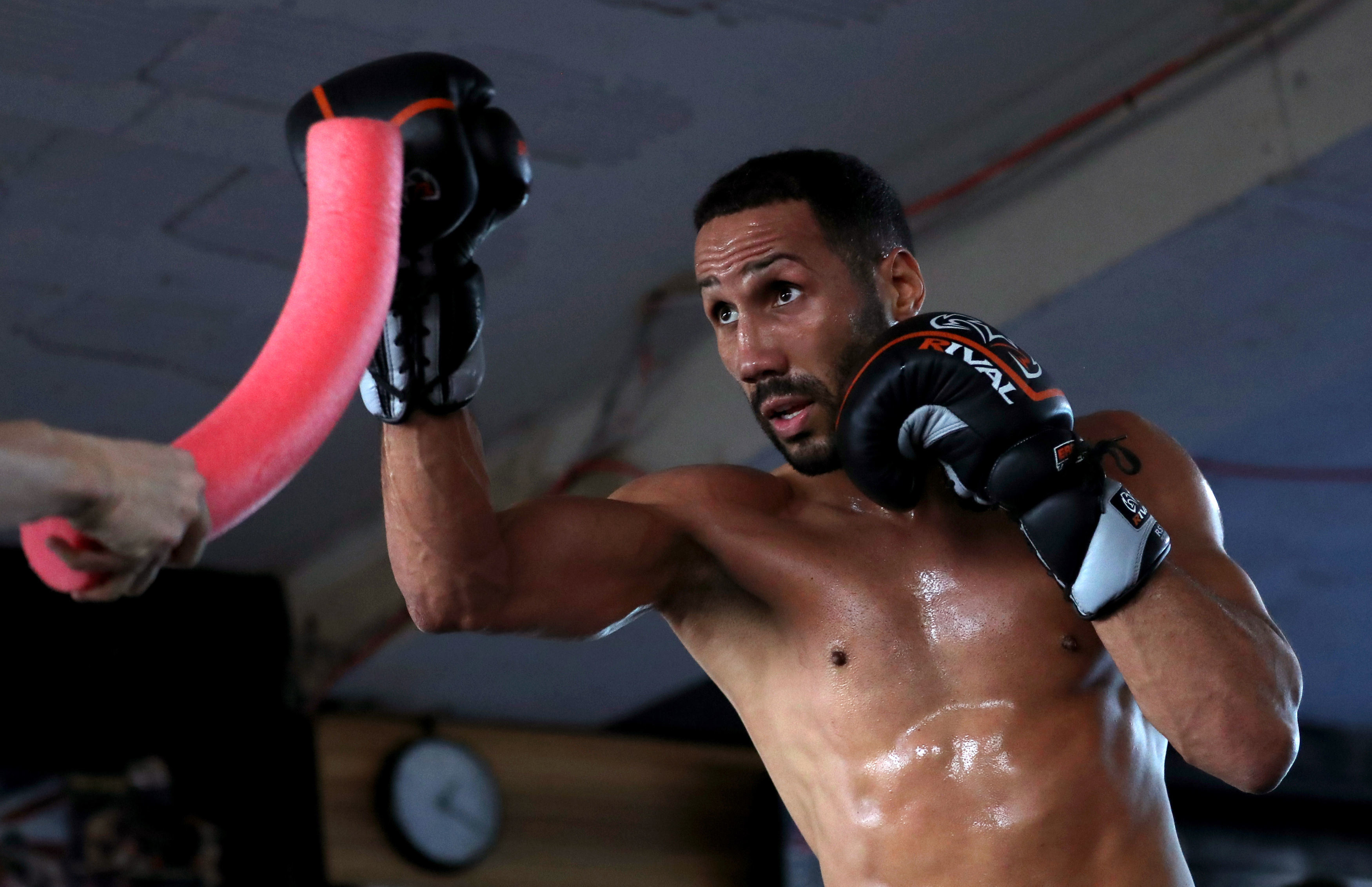 MVP claims DeGale attempted to land a hook on him before the sparring had commenced