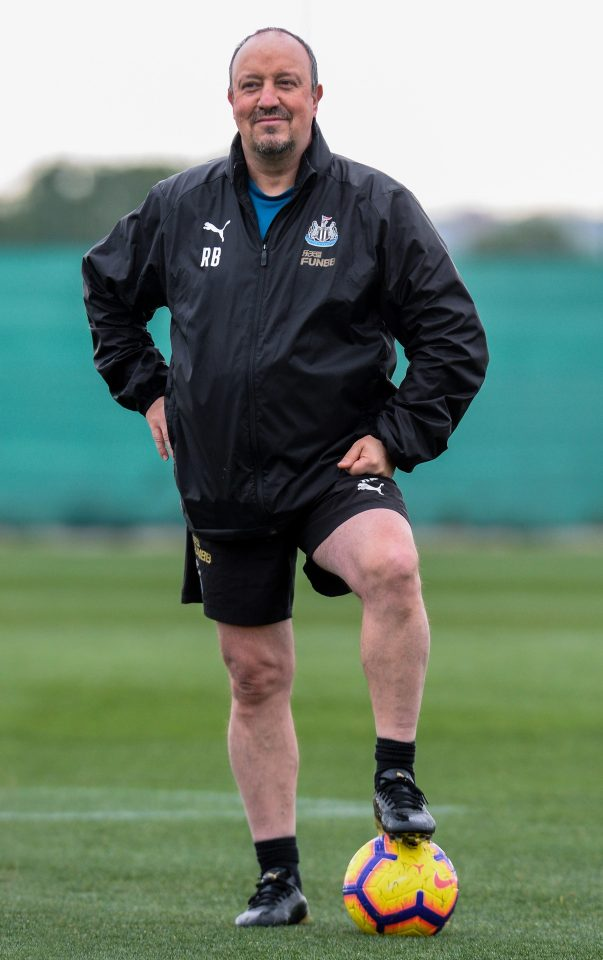 Toon boss Rafa Benitez has been impressed by the Paraguayan throughout this weeks training camp in Murcia