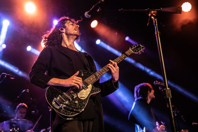 Hozier is intent on enjoying the release of his second album Wasteland, Baby!