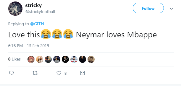 One person tried to put to bed any suggestions Neymar and Mbappe do not get on