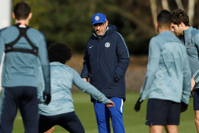 Sarri's squad fears he will get the chop unless they pull off a shock against Man City on Sunday