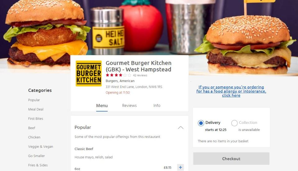 You Can Now Get Gourmet Burger Kitchen Delivered To Your