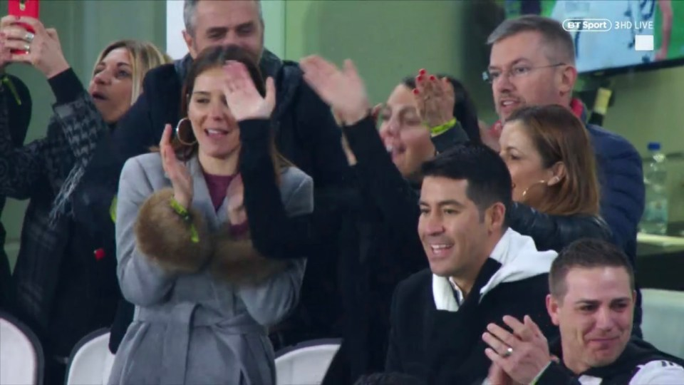 Rodriguez was all smiles when the referee finally blew for full time