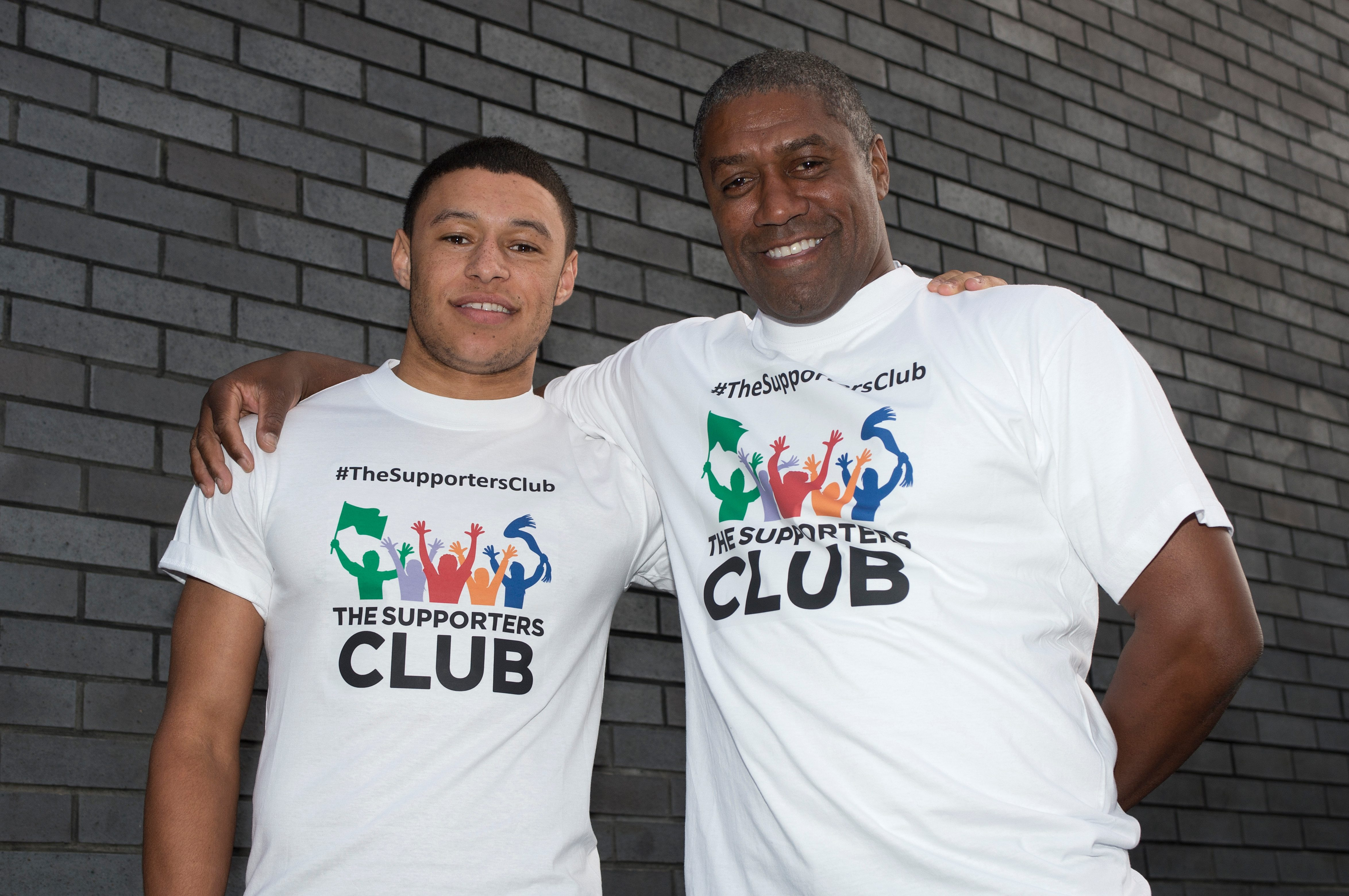 Mark is the father of Liverpool and England star Alex Oxlade-Chamberlain who already has more caps than his dad for his country