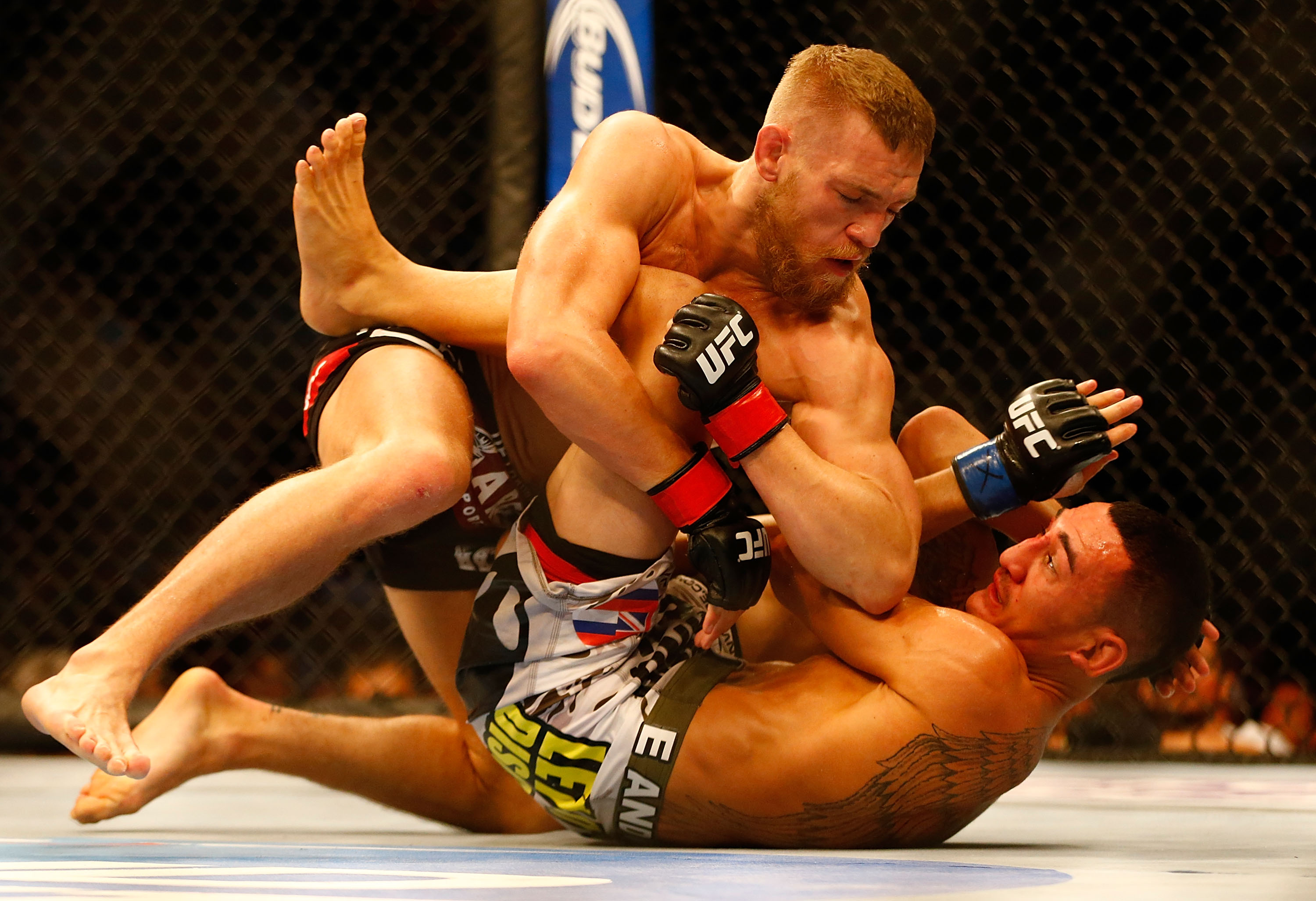 Conor McGregor beat Max Holloway in his second fight in the UFC back in 2013