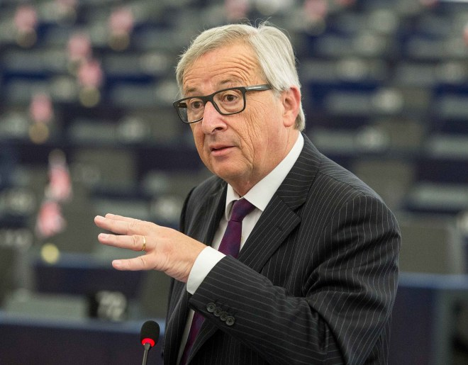 Juncker was Luxembourg PM from 1995 to 2013
