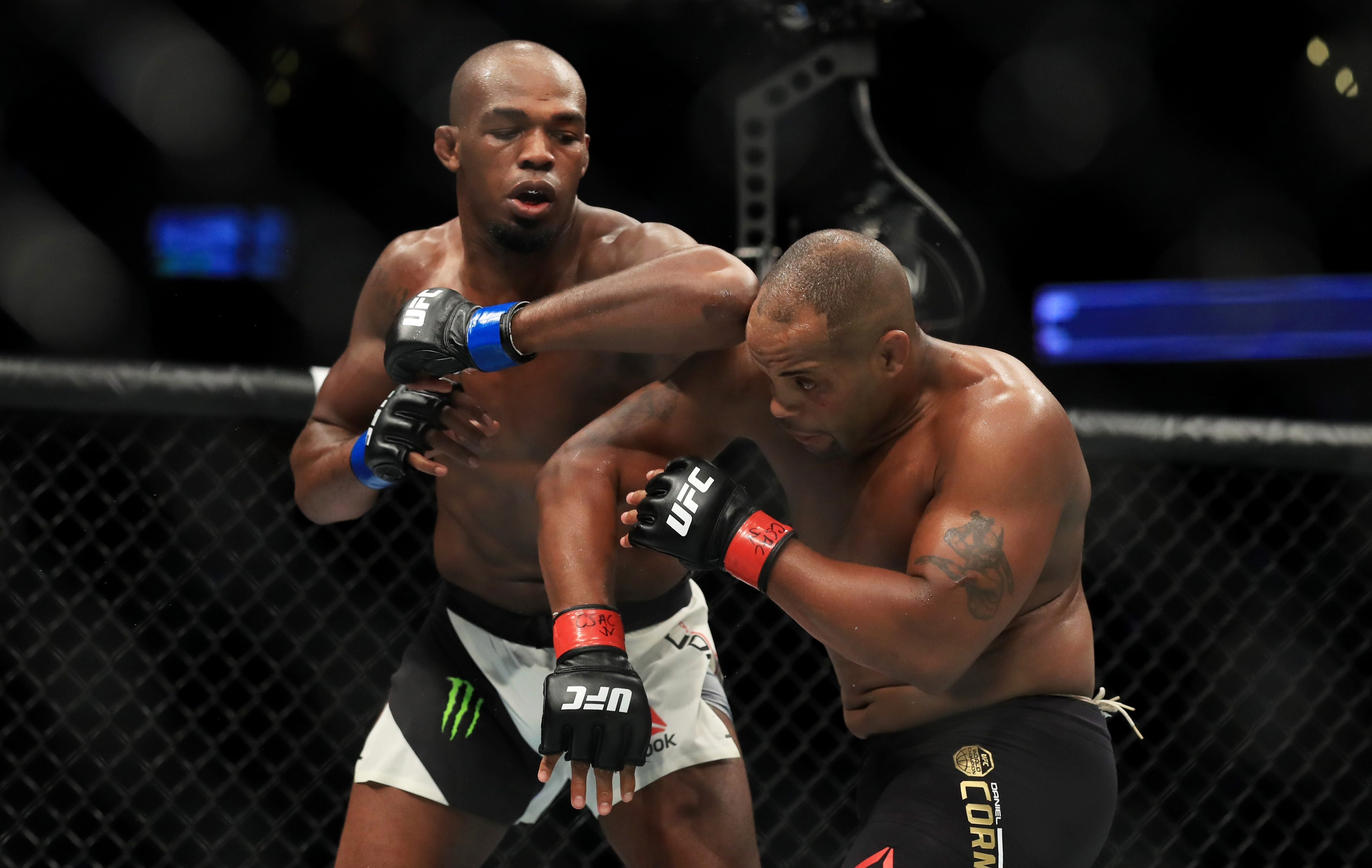 Jones and Cormier have a heated rivalry with the pair fighting twice, both contested at light-heavyweight