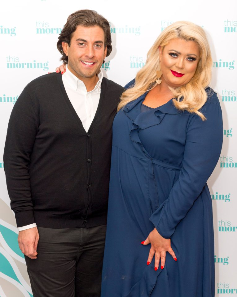 Despite the more rolls than Greggs jibe, it looks like Gemma Collins and James Argent are back on