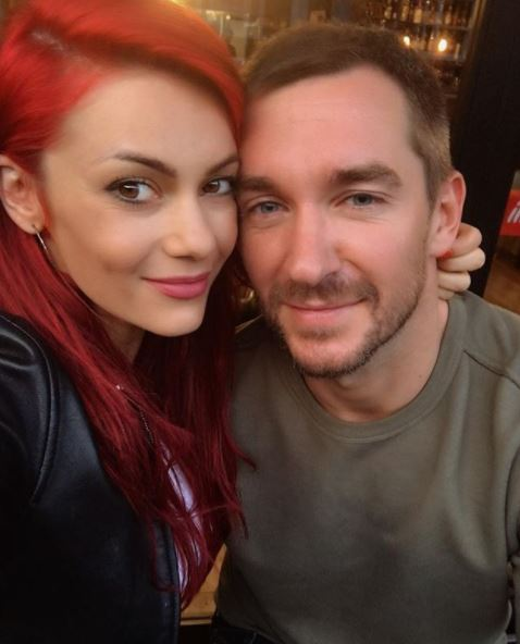Dianne Buswell with her ex boyfriend Anthony Quinlan