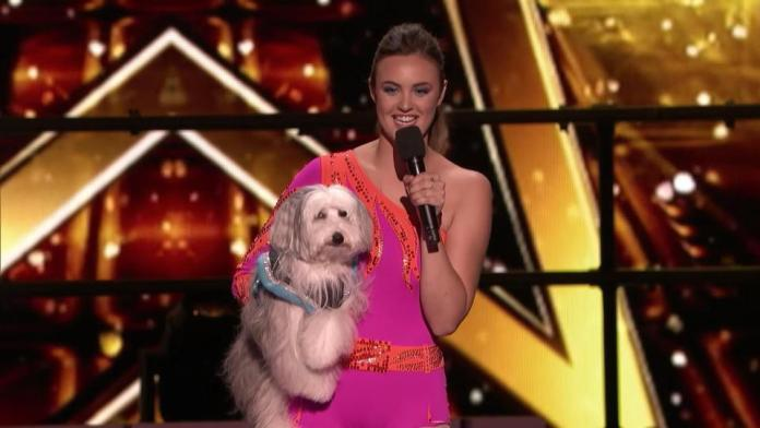 Ashleigh and her new dog Sully