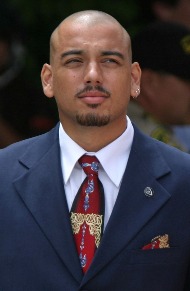 Barnes during Jackson's trial in 2005