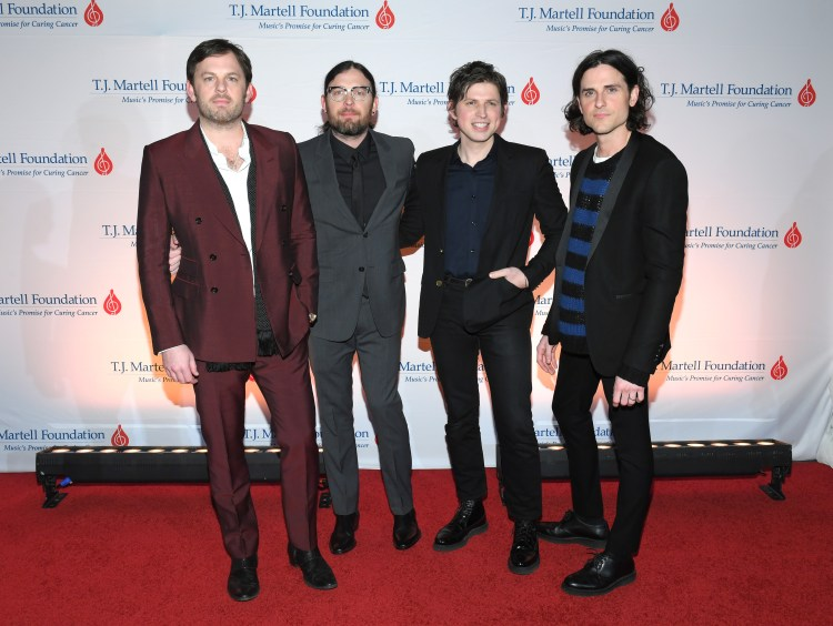 Kings of Leon have just been announced as the headliners of Fusion Presents
