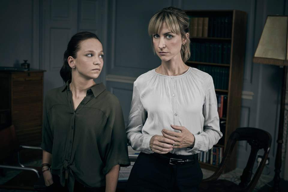 Four-parter Cheat runs nightly until Thursday and stars Mr Selfridge and Coronation Street's Katherine Kelly, right