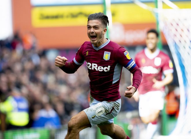 Jack Grealish responded by scoring the only goal of the game at St Andrews