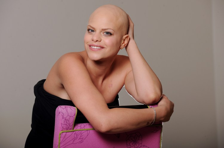 Jade Goody found out she had cervical cancer in 2008 and tragically died a year later
