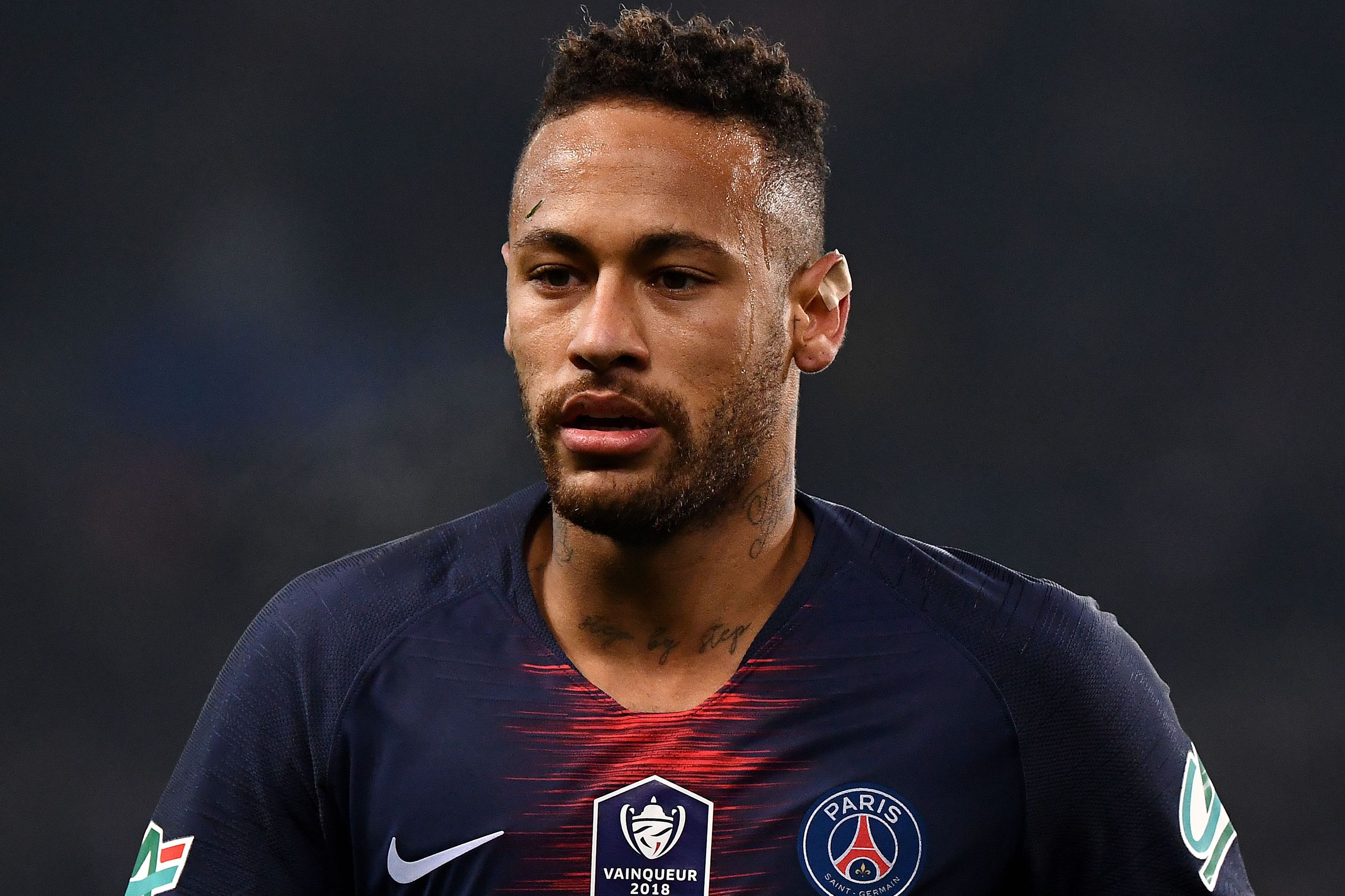 Uefa charge Neymar for X-rated rant at referees after PSG's Champions League loss to Man Utd