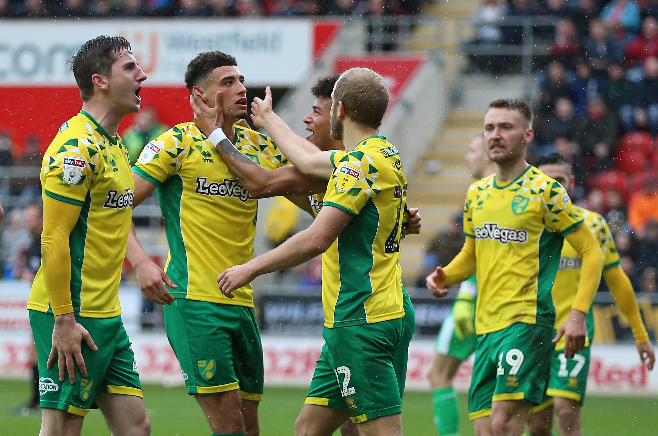 Kenny McLean fired Norwich four points clear at the top of the Championship