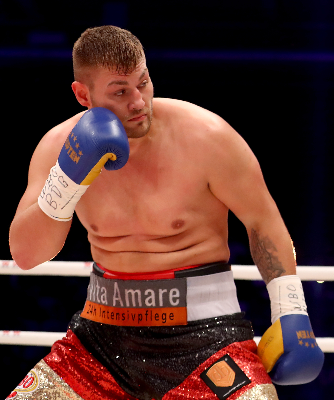 Tom Schwarz is an undefeated German heavyweight