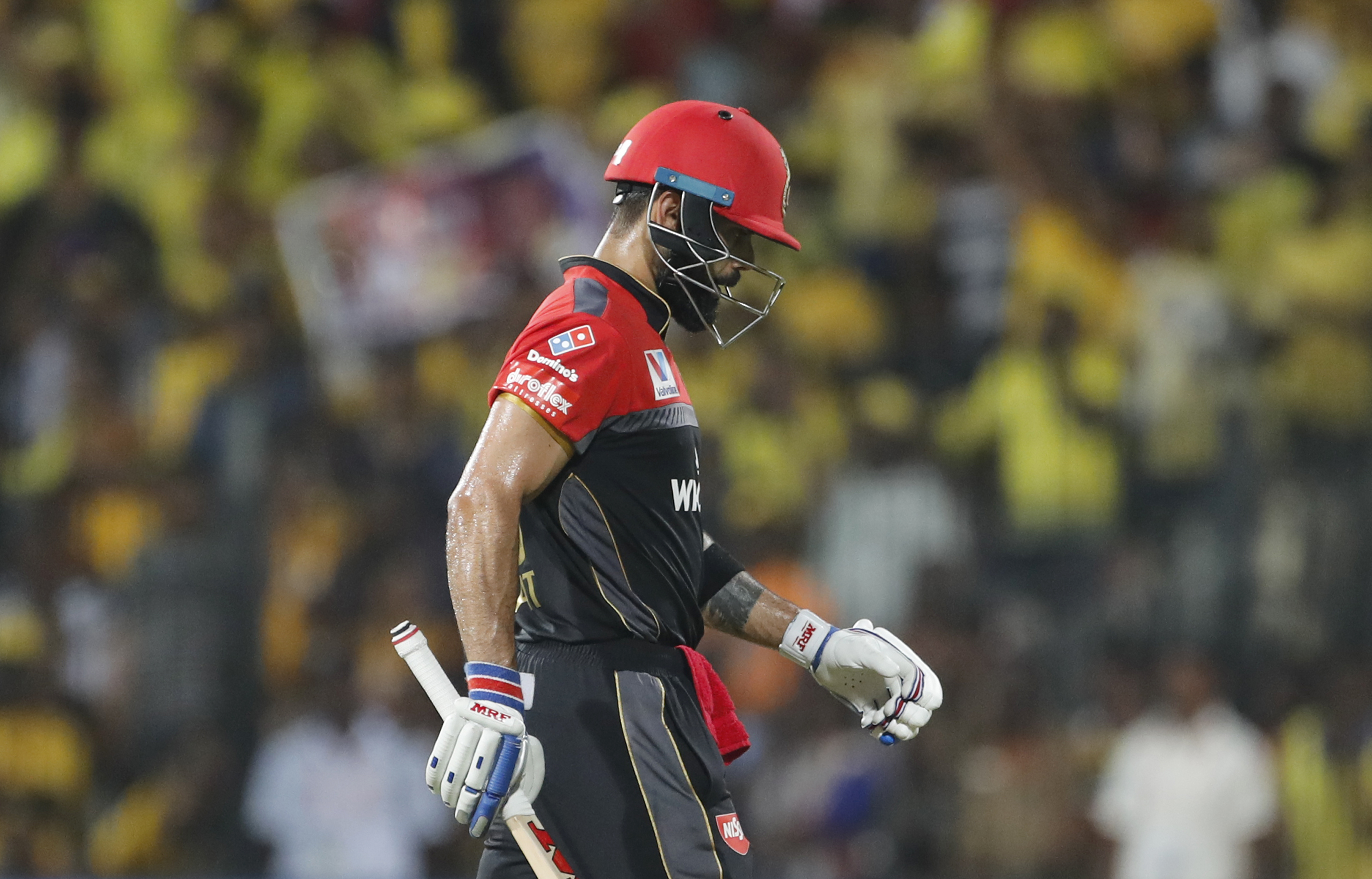 Virat Kohli knows his RCB side must improve dramatically after their abject showing in Chennai