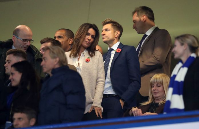 Susanne Reid is back together with Palace chairman Steve