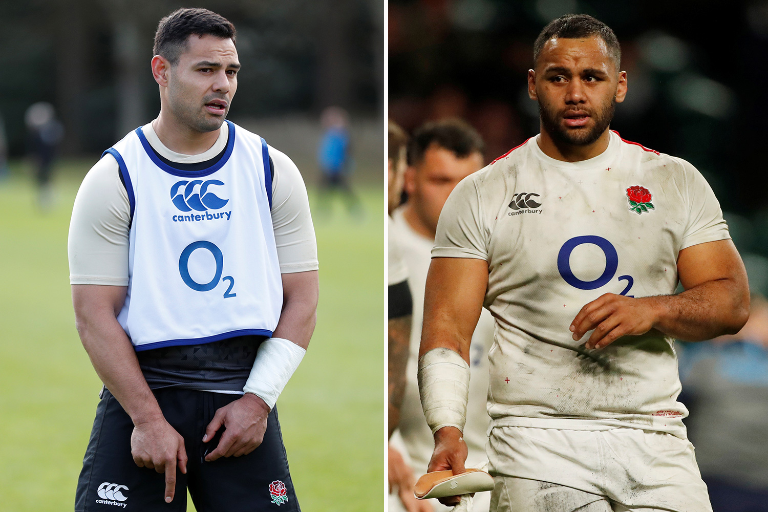 Ben Te'o and Billy Vunipola apologised to the England squad after arriving back at the team hotel after everyone else