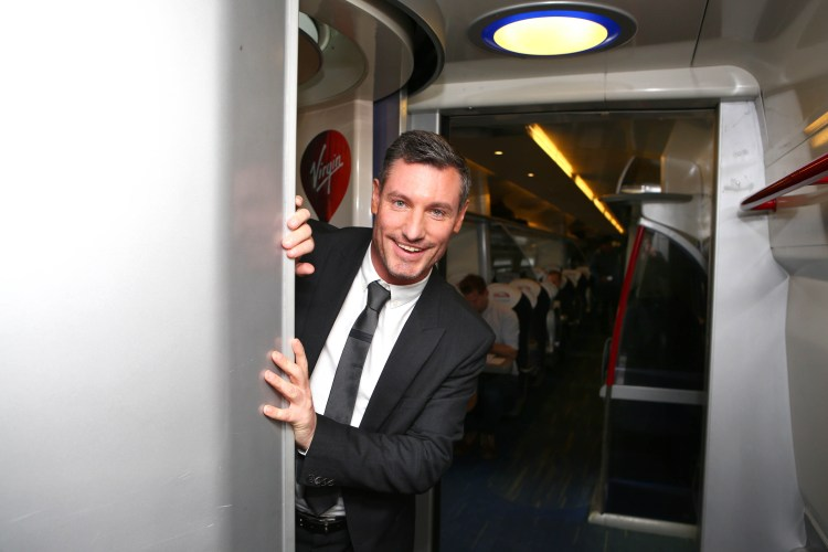 Dean Gaffney is launching Virgin Trains' search for a new voice of their on board talking toilets