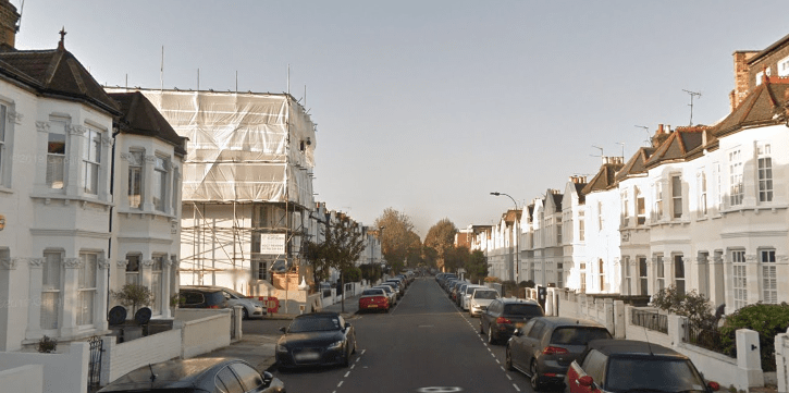 The man was stabbed on Gowan Avenue in Fulham overnight
