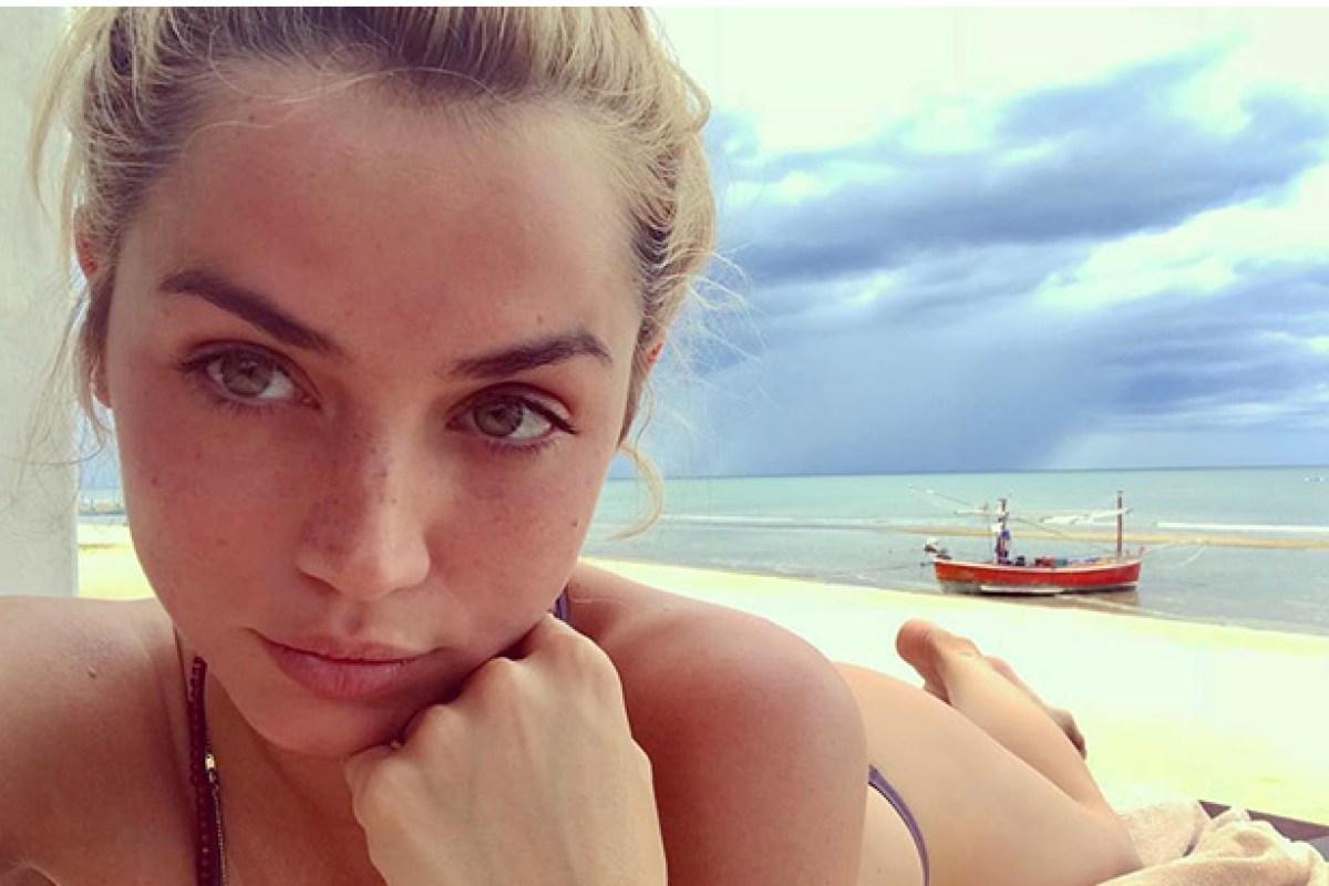 Ana De Armas Sexy inside new bond 25 girl ana de armas's glam life with exotic
