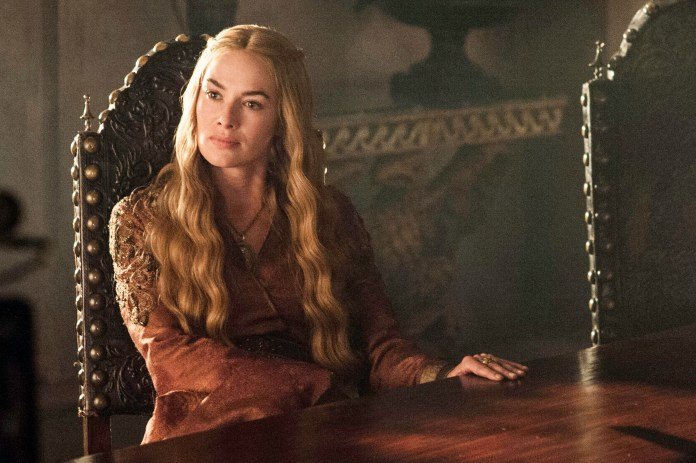 Lena as Cersei Lannister in Game of Thrones