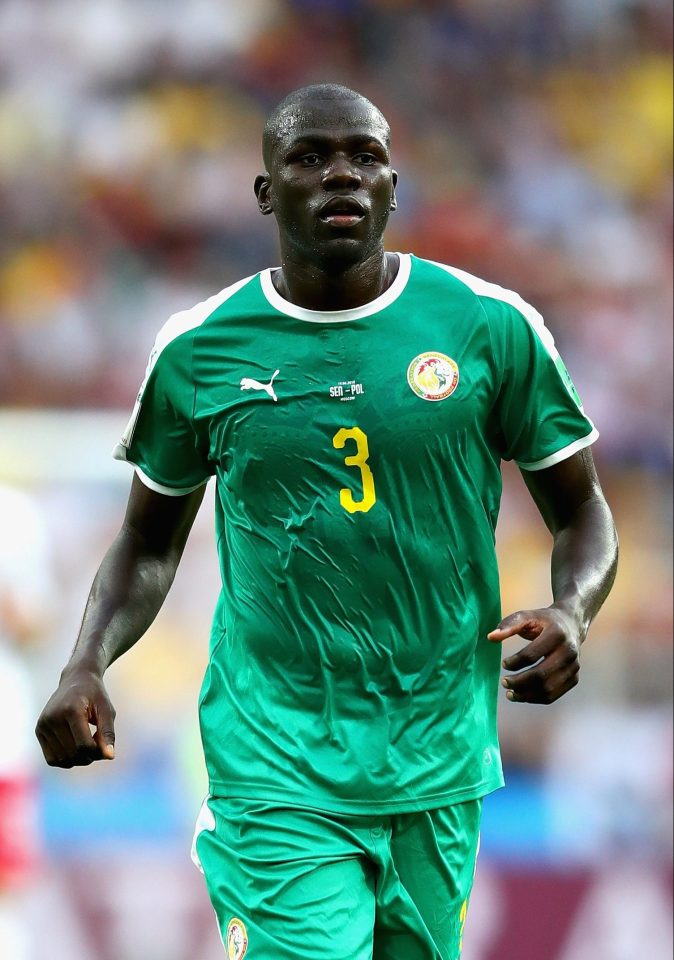 In 2015, Koulibaly pledged his allegiance to Senegal